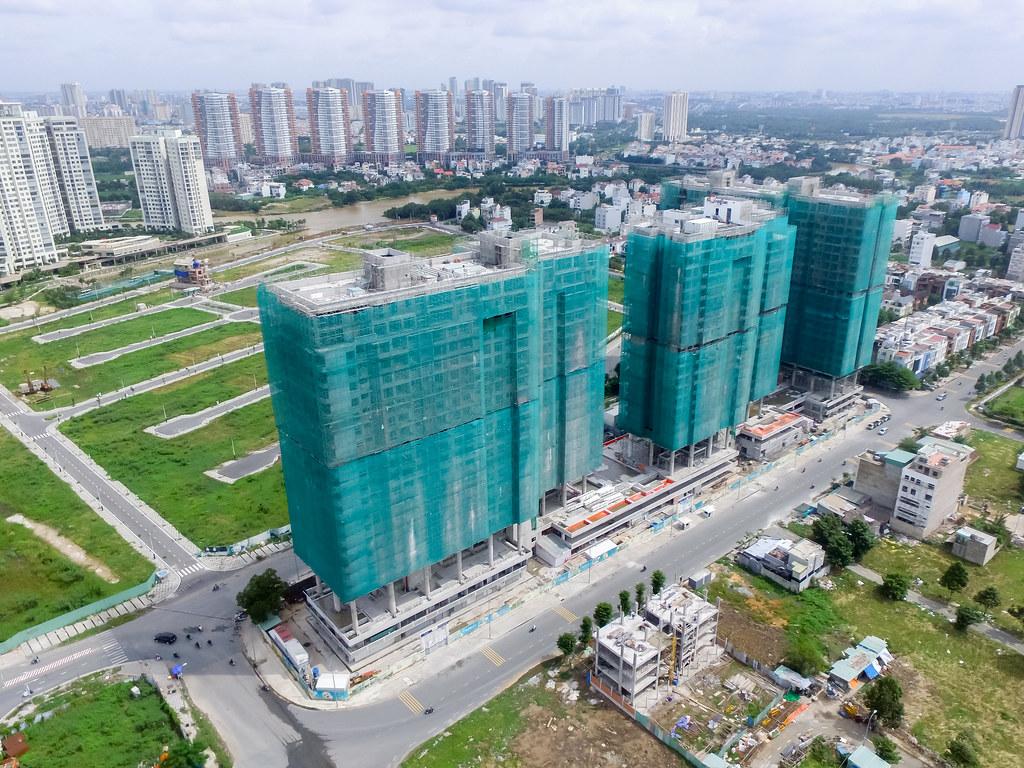 Dự án căn hộ One Verandah quận 2 đã xây dựng đến đâu 09-2019 2