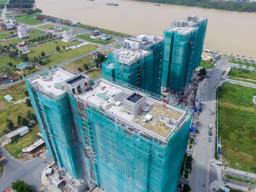 Dự án căn hộ One Verandah quận 2 đã xây dựng đến đâu 09-2019 4