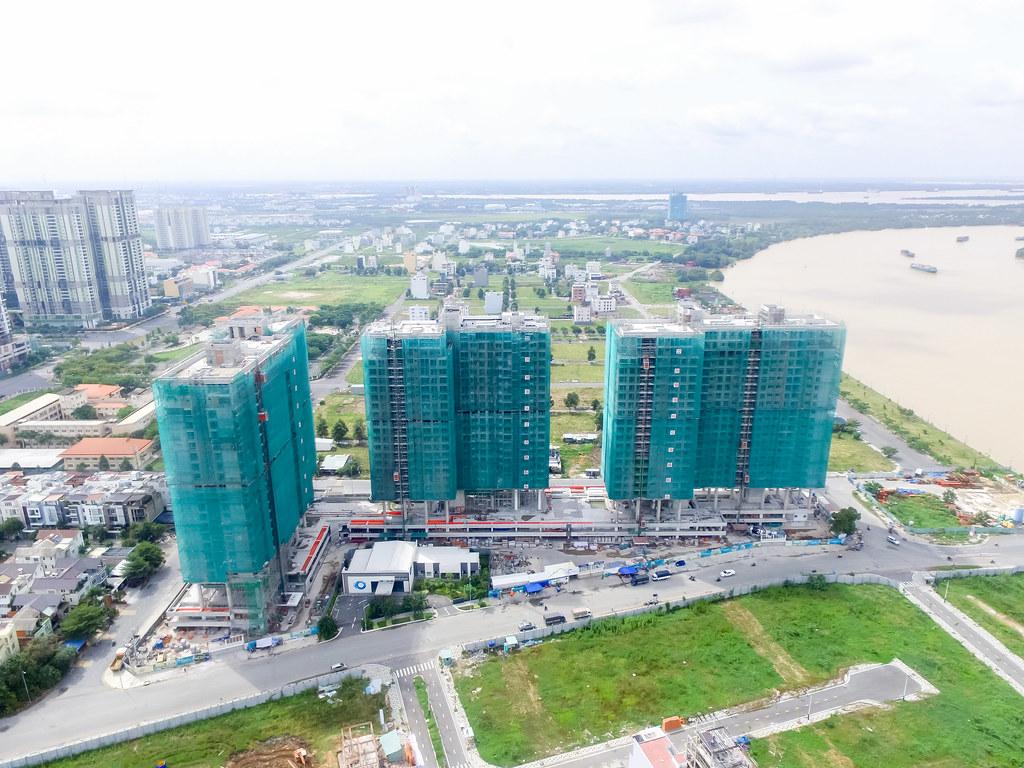 Dự án căn hộ One Verandah quận 2 đã xây dựng đến đâu 09-2019 6