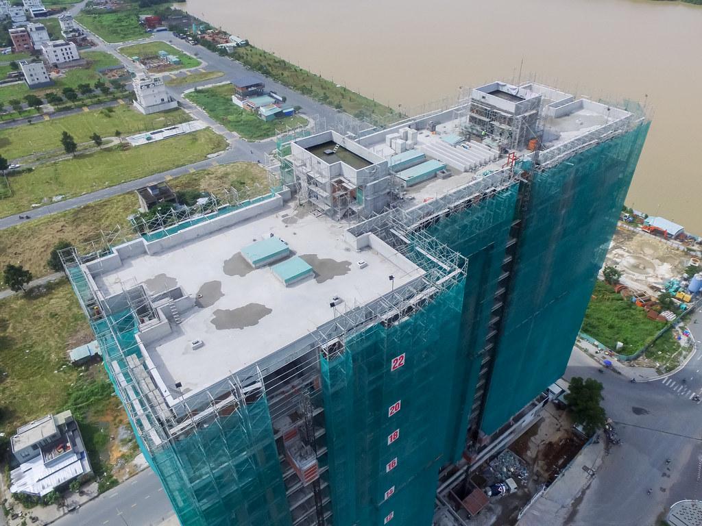 Dự án căn hộ One Verandah quận 2 đã xây dựng đến đâu 09-2019 8