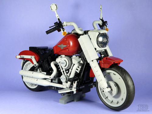 LEGO Creator Expert 10269 Harley-Davidson Fat Boy Review-18 | by DoubleBrick.ru