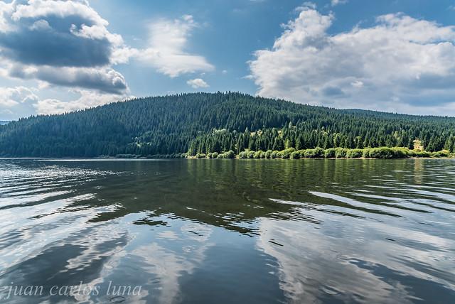Barajul Lacului Fântânele