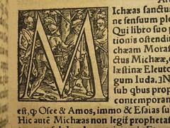 1549 Death's Dance Alphabet - M - the ambush by Holbein