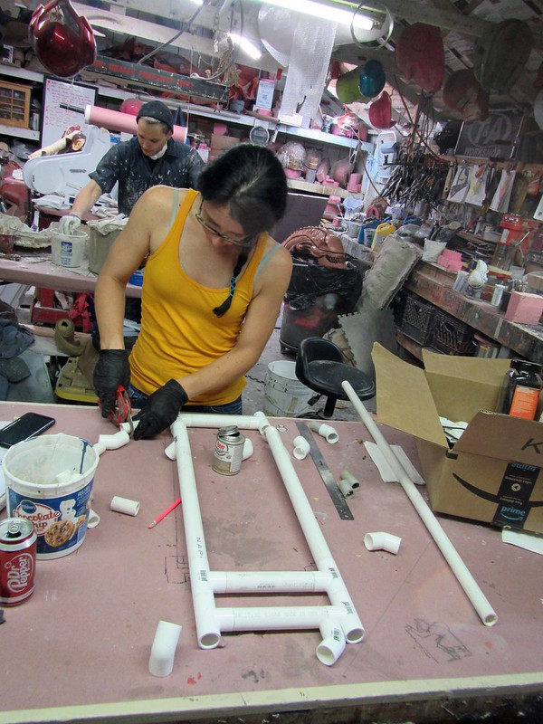 Rachel Building Roll Cage