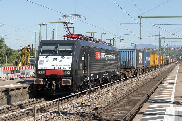 MRCE 189 991 Weil am Rhein