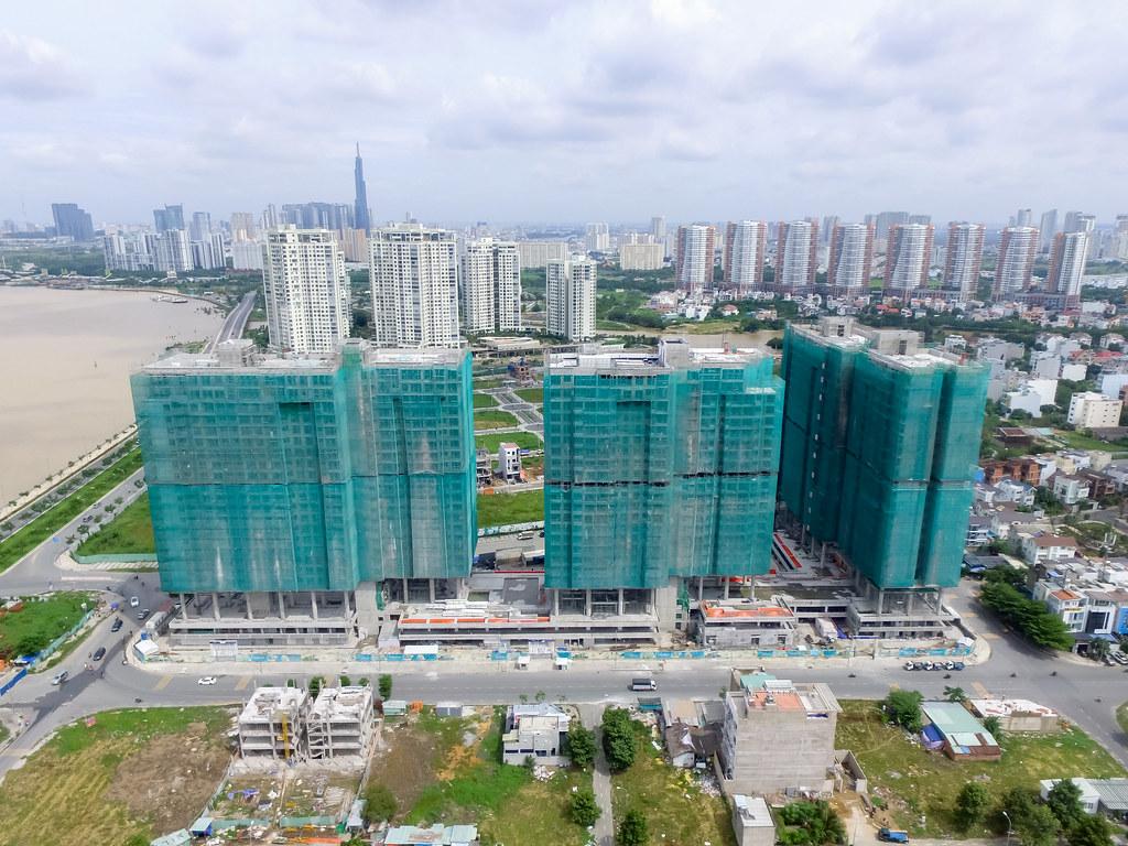 Dự án căn hộ One Verandah quận 2 đã xây dựng đến đâu 09-2019 1