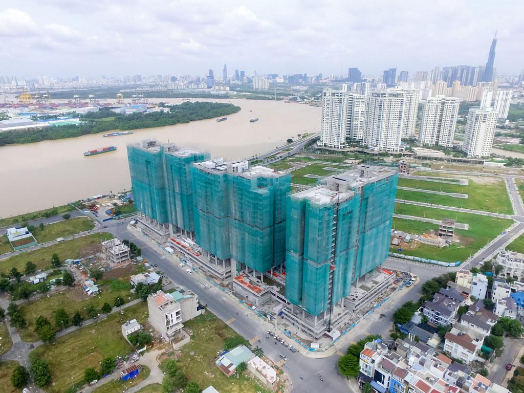 Dự án căn hộ One Verandah quận 2 đã xây dựng đến đâu 09-2019 3