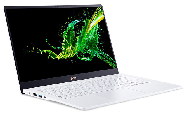 IFA 2019 : le nouvel Acer Swift 5 débarque sous Intel Ice Lake