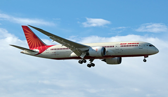 VT-ANS EGLL 06-07-2019 Air India Boeing 787-8 Dreamliner CN 36290