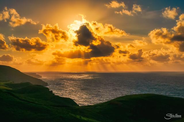 Luz al Atardecer en el Cabo de Quejo