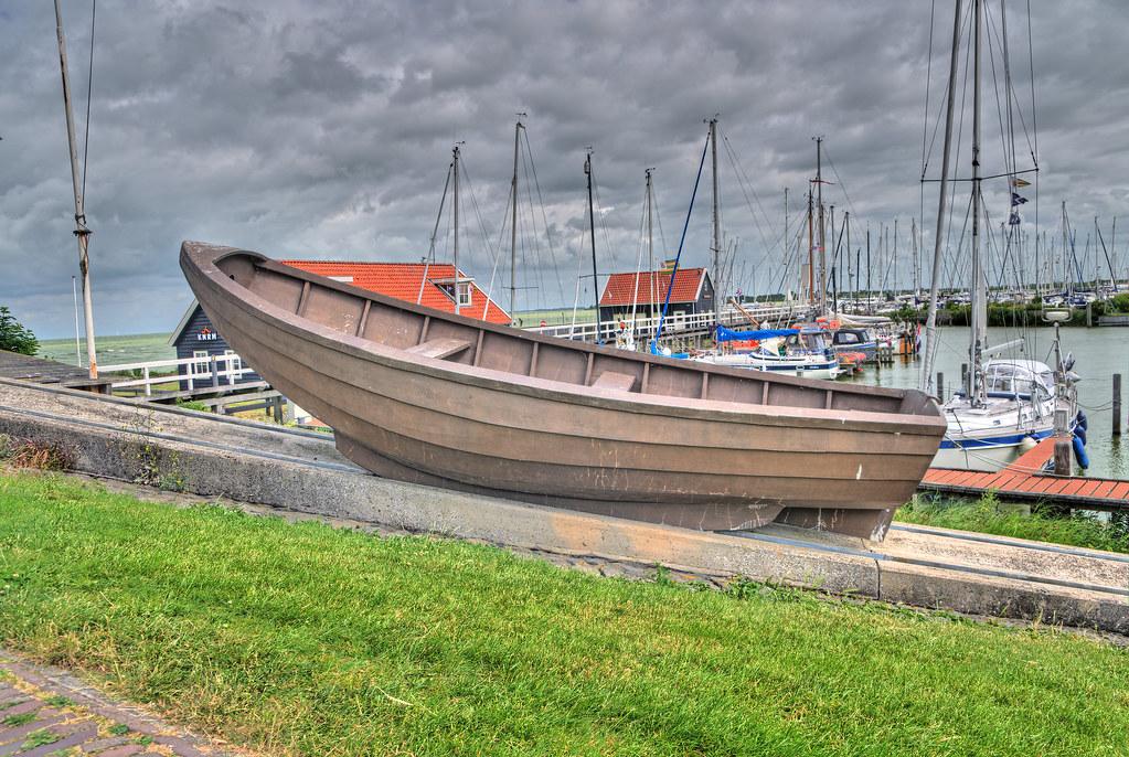 Hindeloopen Ijsselmeer Rettungsboot