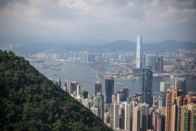 View over the City, Hong Kong
