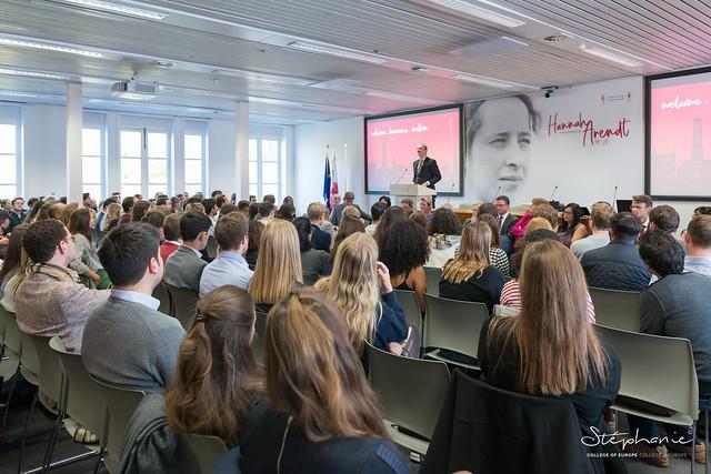 Rector's Welcome Speech, Bruges Campus.10 September 2019
