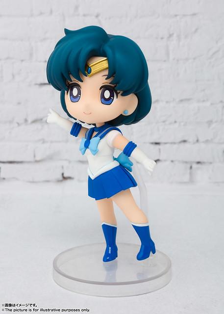 智慧與美貌兼具的正義女神!BANDAI Figuarts mini《美少女戰士》水星仙子(セーラーマーキュリー)