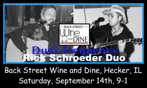 Rick Schroeder Duo 9-14-19