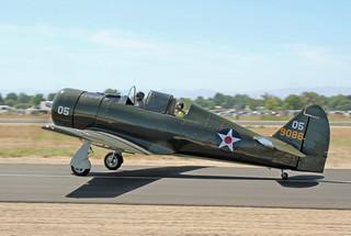 """Can. Harvard Mk.IV C/n.20470/Replica NA-50/P-64 """"Lone Eagle"""" 05-9086 N202LD"""