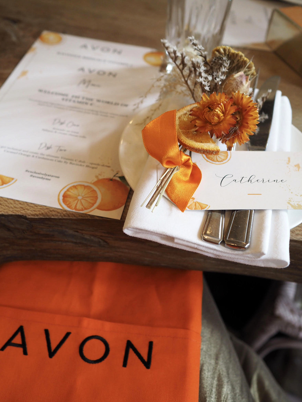 Not Dressed As Lamb, My Year in Review (Part 2 of 3): Avon event breakfast