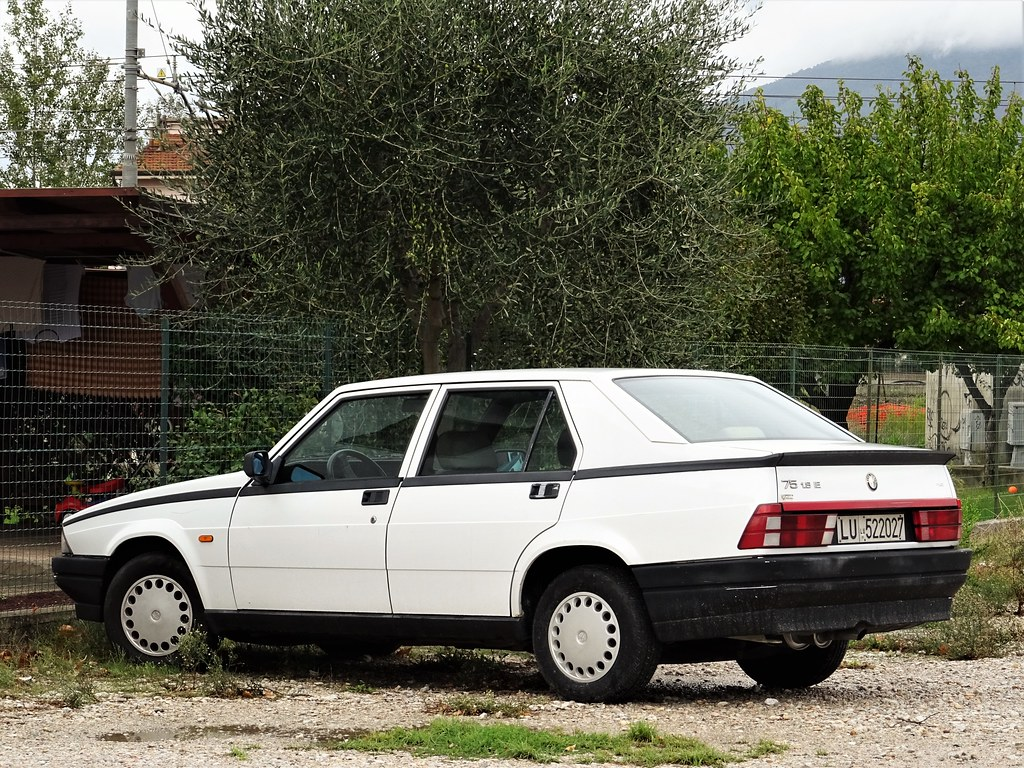 1991 Alfa Romeo 75 1 8 Ie A Photo On Flickriver