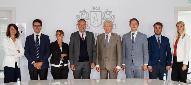 Itālijas vēstnieka un Bergamo Universitātes delegācijas vizīte