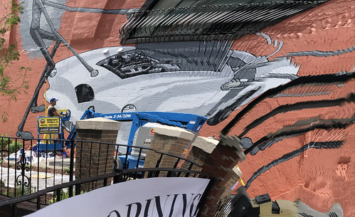 tylervoorhees brightwallsjackson mural urbanart art wallpainting paintingwalls citywalls