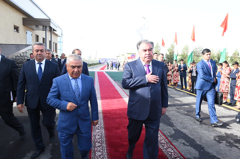 Ифтитоҳи Фабрикаи парандапарварӣ дар шаҳри Кӯлоб 11.09.2019