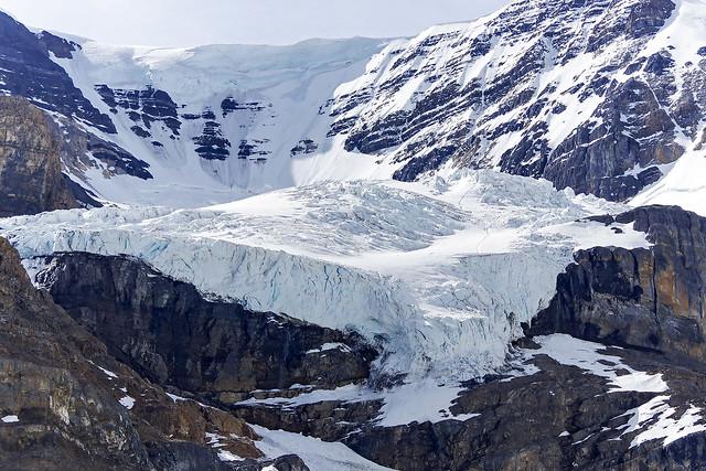 Athabasca Glacier. Alberta Canada.