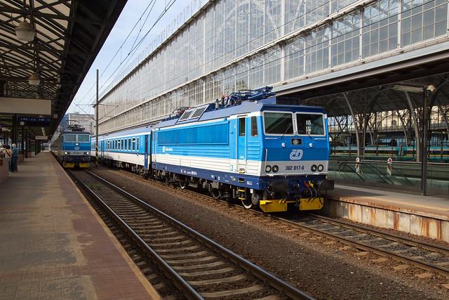 ČD 362 017 Praha hlavní nádraží