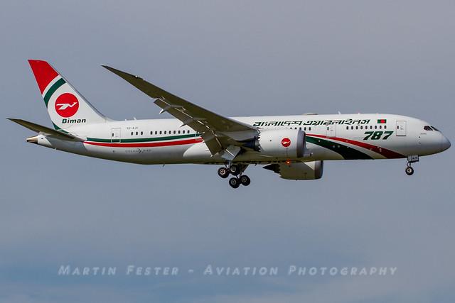 S2-AJS // Biman Bangladesh Airlines // Boeing 787-8