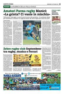 Gazzetta di Parma 11.09.19 - pag 35