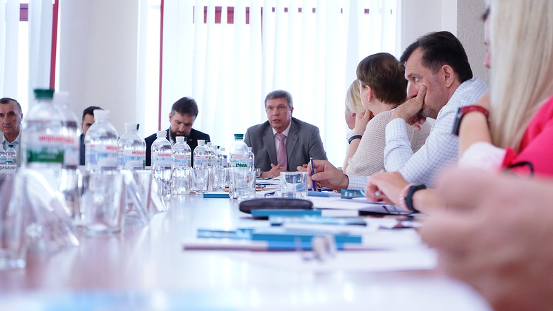 Round Rable discussion on a number of issues regarding the functioning of justice in the east of Ukraine