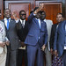 President Kiir and Machar discuss political issues