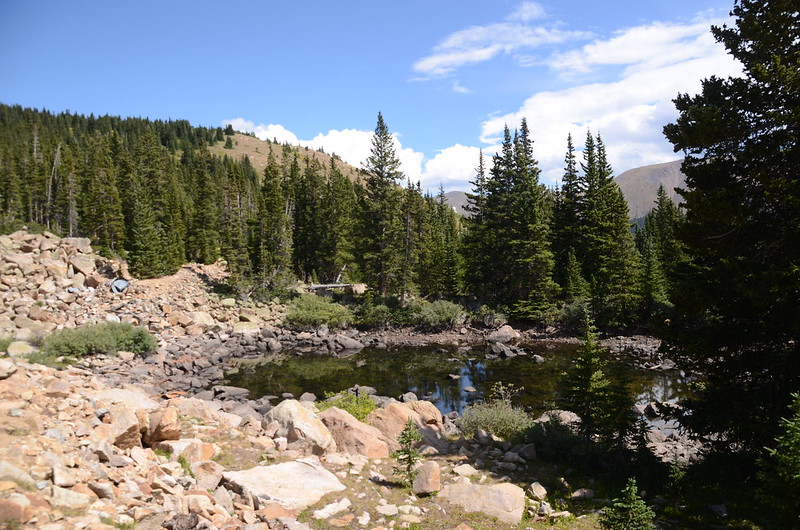 Unnamed pond along Berthoud Pass Ditch
