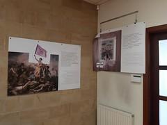 Galería fotográfica en la Casa de la Mujer.