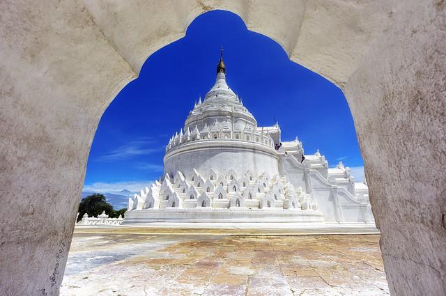 La pagoda bianca