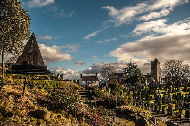 Historic Graveyard Stirling