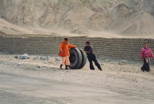 Near Leh, Ladakh, India