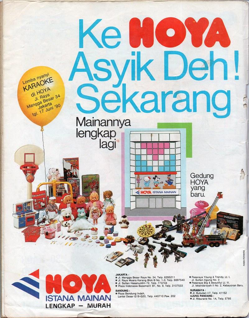 Hoya Istana Mainan - Bobo, 14 Juni 1990