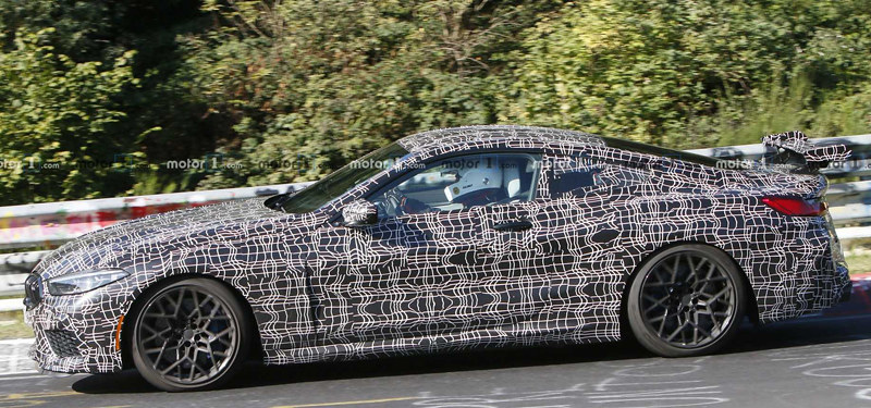 bmw-m8-with-additional-rear-wing-spy-photo (2)