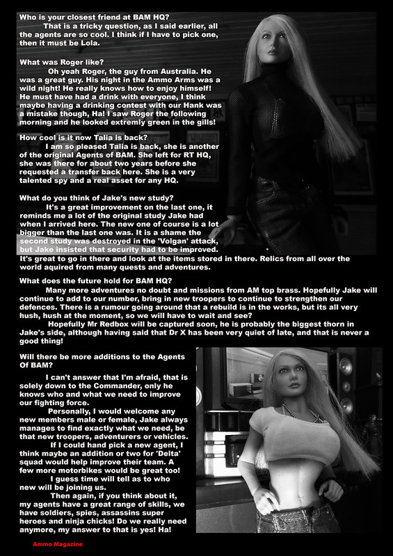 Bamcomix - Ammo Magazine September 2019 Jenna's interview 48716688418_97bab68f45_c