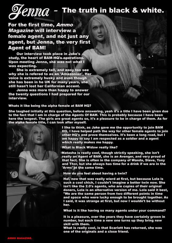 Bamcomix - Ammo Magazine September 2019 Jenna's interview 48716698738_31bd7172a6_c