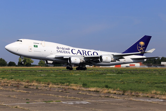 Saudi Arabian Cargo (ACT Airlines)  Boeing 747-481(BDSF) TC-ACF