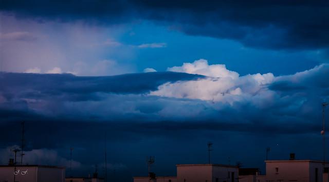 Ojo de la tormenta en Valencia