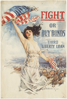FIGHT or Buy Bonds  -  Third Liberty Loan