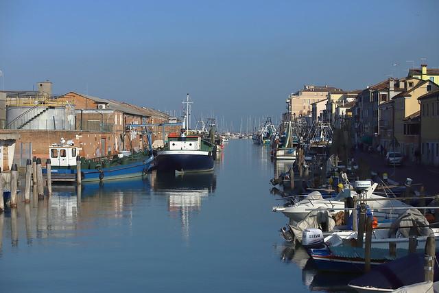 Canale Lombardo . (Chioggia)