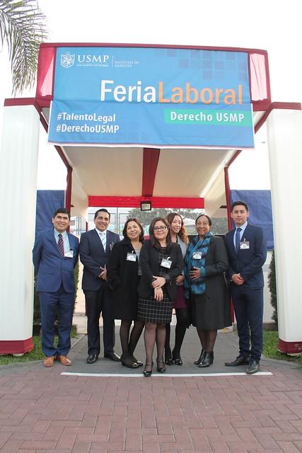 Facultad de Derecho de la USMP desarrollo con éxito su primera Feria Laboral