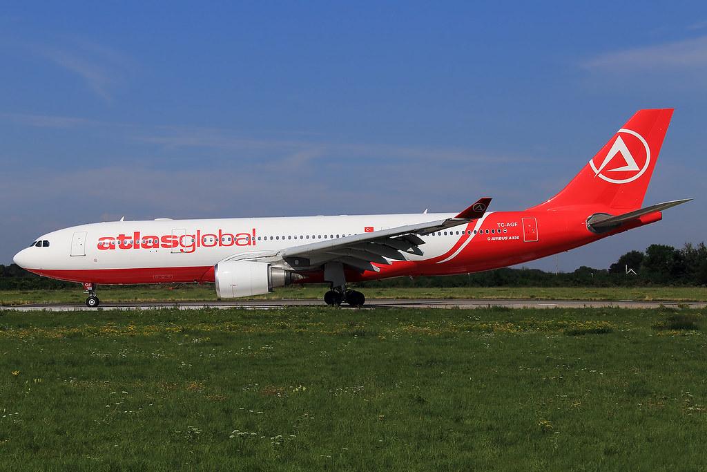 AtlasGlobal  Airbus A330-203 TC-AGF