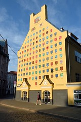 Vecrīga Old Town in Riga, Latvia