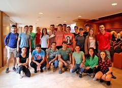 11/09/2019 - Masterclass de Jonathan Paredes, uno de los mejores clavadistas del mundo, a estudiantes de Ciencias de la Actividad y Deportes (CAFyD) de Deusto