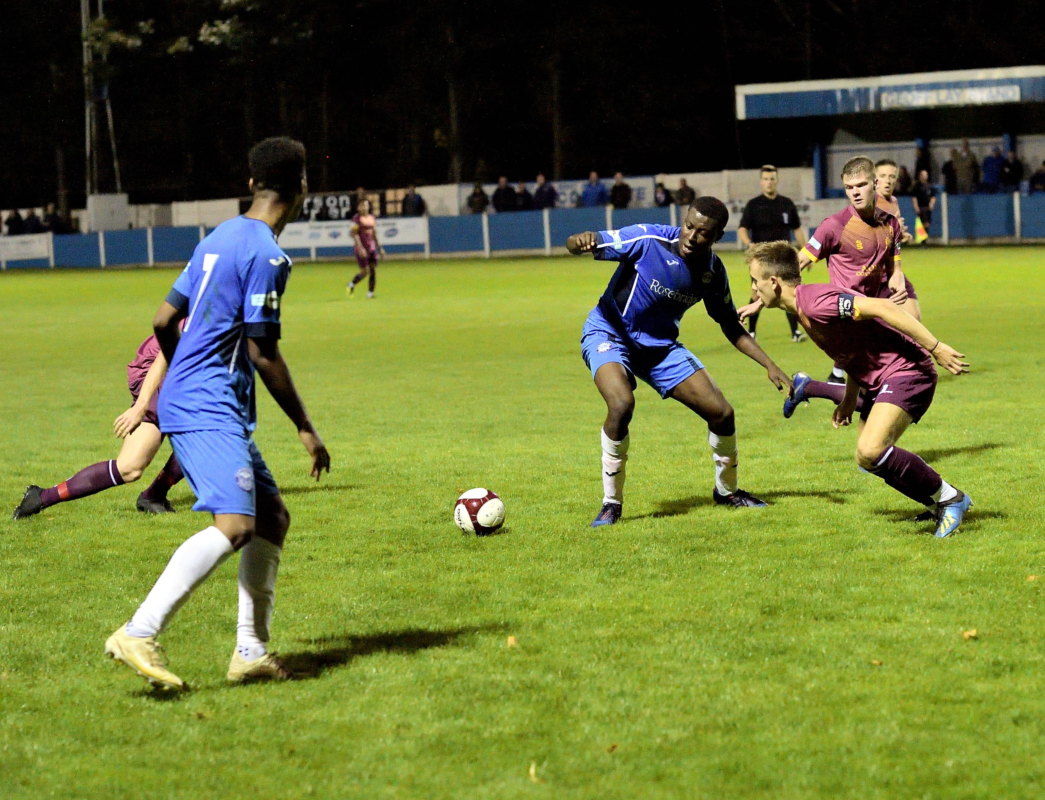 Rams 2 Clitheroe 0 - Match Action