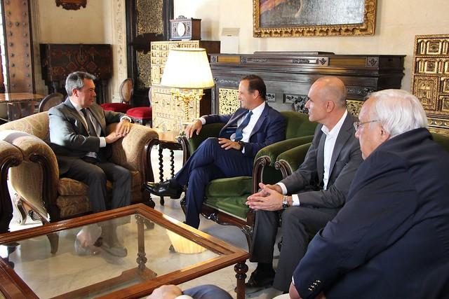 Reunión alcaldes Sevilla y Lisboa